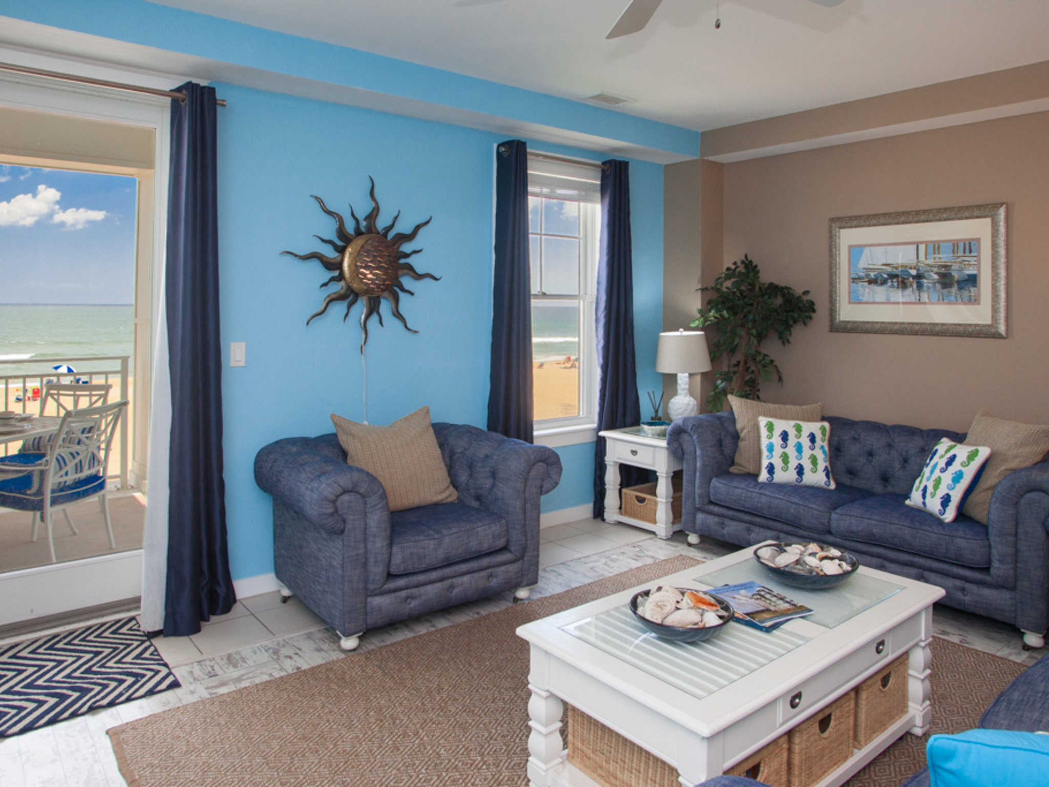 A105 grand bleu 3 bedroom condo virginia beach va - 3 bedroom suites in virginia beach ...